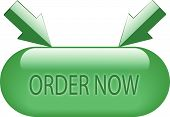 Green Order Now Button With Joint Arrows