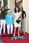 LOS ANGELES - AUG 22: Valerie Bertinelli, Betty White, Jane Leeves, Wendy Malick as Valerie Bertinelli is honored with a star on the Walk of Fame on August 22, 2012 in Los Angeles, California