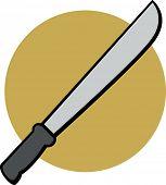 pic of machete  - machete - JPG