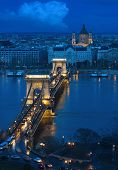 Budapest - The Old Chain Bridge