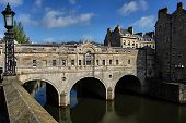 Pulteney Bridge In Bath