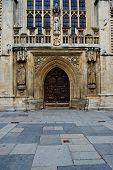 An Entryway Into Bath Abbey