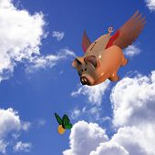 Swooping Piggy Bank