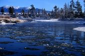 Payette River In Winter