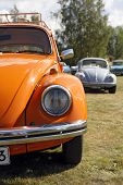 NYKARLEBY, FINLAND - AUGUST 19: The Volkswagen Beetle, officially called the Volkswagen Type 1, is a