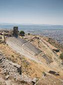 Amphitheater in Pergamon Turkey