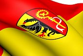 Biberach, Deutschland Fahne.