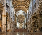 Interior Of Parma Cathedral