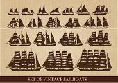 Sailboats and ships history