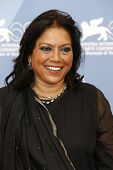 VENICE - AUG 28: Mira Nair at the 69th International Venice Film Festival for 'The Reluctant Fundame