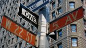 Street Sign On Fifth Avenue