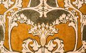 Art Nouveau Style Wool Rug