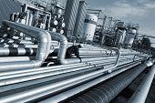 Refinery Pipeline Construction