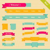 Ribbons for design