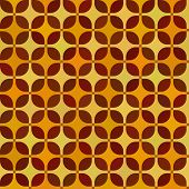 Nahtlose Muster mit Quadraten