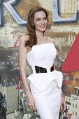 BERLIN - JUN 4: Angelina Jolie at the 'WORLD WAR Z' Premiere at Sony Center on June 4, 2013 in Berli