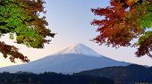 stock photo of mount fuji  - Panorama of Mt - JPG