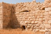 picture of jericho  - The Euthymius Monastery ruins - JPG