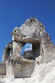 Cave temple in Divnogorsky Sacred Uspenskom a man's monastery