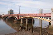 Vauxhall Bridge At Low Tide