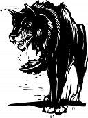 Gran lobo malo