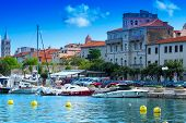 Croatia Rab City harbor