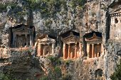 Lycian Rock-cut Tombs