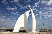 Monument In Manama, Bahrain
