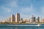 Downtown City of San Diego, Southern California USA