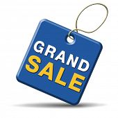 grand sale sales and reduced prices % off