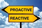 Proactive Or Reactive, Opposite Signs