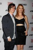 LOS ANGELES - JAN 6:  Ben Folds, Alicia Witt at the