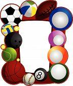 Marco de deportes de pelota