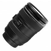 A photo of the lens