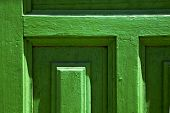 Lanzarote Abstract Door Wood Green Spain