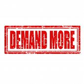 Demand More-stamp