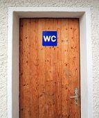 WC-Tür
