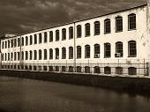 Vintage Industrial Factory