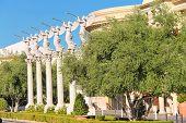 Statues Of Cherubs In Caesar's Palace   In Las Vegas