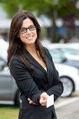 Aluguel de carros e representante de vendas