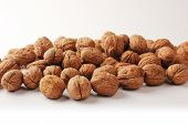 picture of ground nut  - The ground walnuts in bulk - JPG