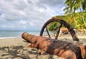 Seashore at Saint Lucia, Caribbean