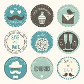 decorative wedding icons