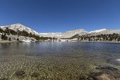 South Fork Lake in California's Cottonwood Lakes Basin Sierra Nevada Mountains Wilderness.