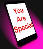 You Are Special On Mobile Means Love Romance Or Idiot