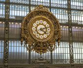 Clock Inside Orsay Museum