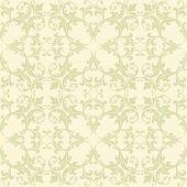 Yellow Damask Fabric