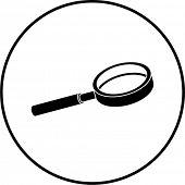 magnifier symbol