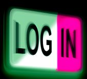 Log In Login Sign Shows Sign In Online