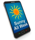 Sunny All Week On Mobile Means Hot Weather